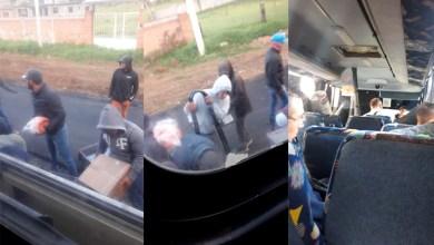 Photo of #Morelia Exponen A Normalistas Saqueando Mercancía De Autobuses Secuestrados
