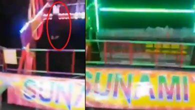 Photo of #Video Captan Momento En El Que Chava Cae De Juego Mecánico