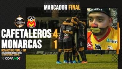 Photo of Monarcas Va A Chiapas A Arrastrar El Prestigio Y Es Goleado 4-1 En Copa MX