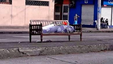 Cuerpo dejado en banca de Ecuador