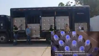Photo of #Video Grupo Modelo Entrega Más De 18 Mil Botellas De Gel Antibacterial Al IMSS