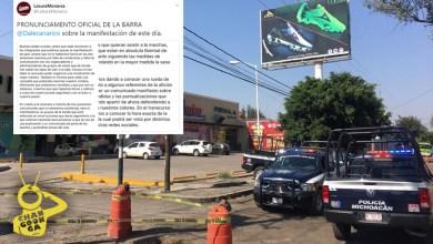 #Morelia Locura 81 No Participará En Marcha De Hoy, Casi Nadie Más Fue
