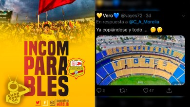 Photo of Atlético Morelia Llama A Su Afición Como Porra De Tigres, Acusan Que Sigue #Arrebatando