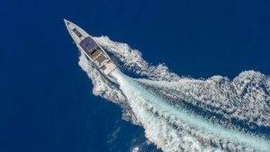 """Chania Boat Tours"" yacht explores Balos & Gramvousa island"