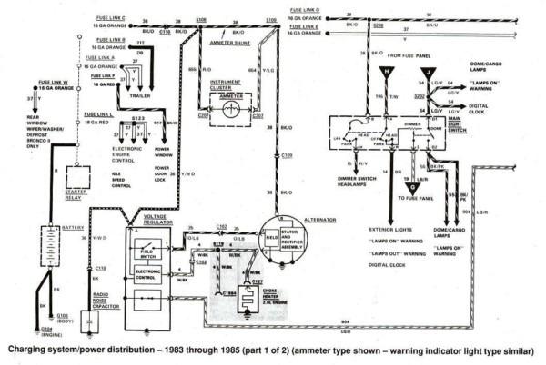 1989 ford f150 alternator wiring diagram full hd quality
