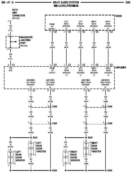 download diagram 2002 dodge dakota sport stereo wiring