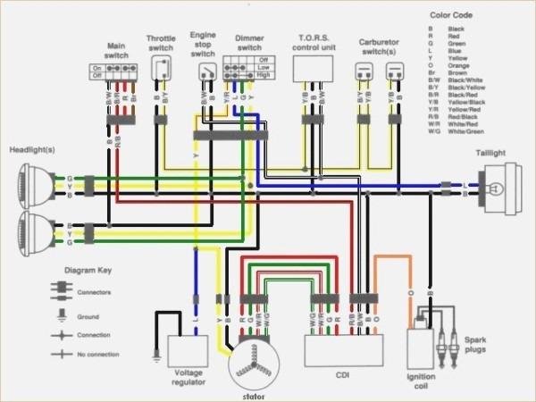 diagram yamaha blaster headlight wiring diagram full
