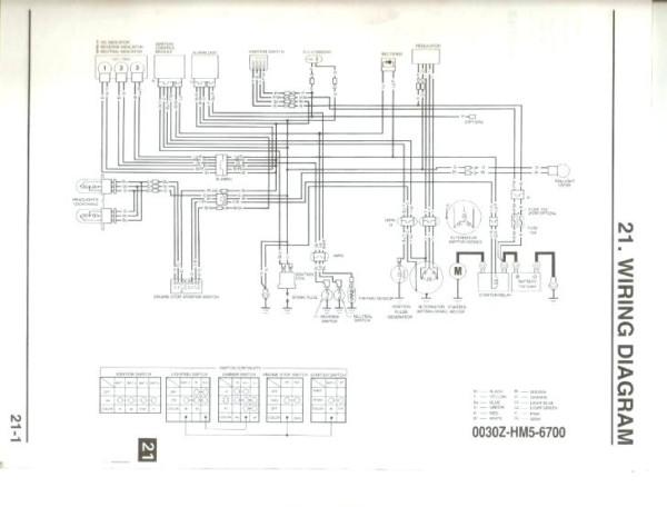 1998 honda trx300fw wiring diagram  filter wiring diagrams