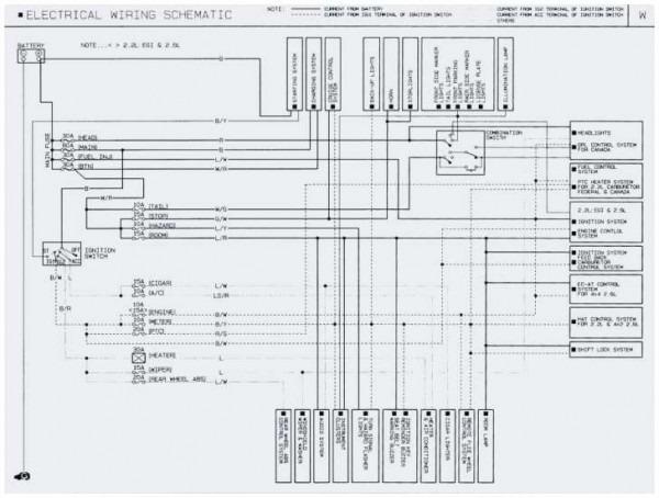 mazda b2000 wiring diagram  1992 chevy lumina radio wiring