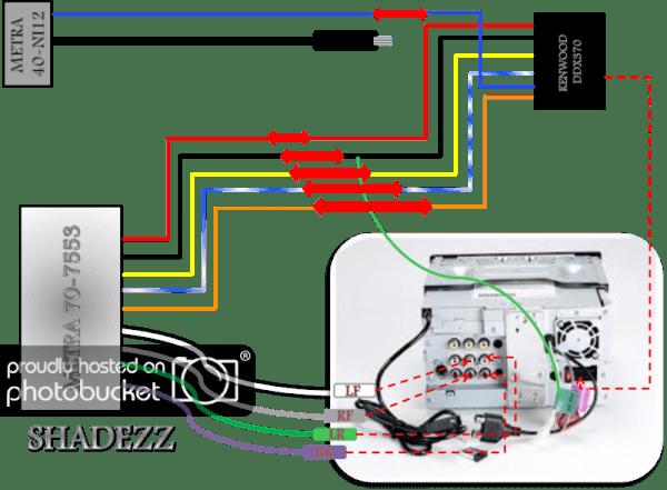 kenwood ddx470 wiring harness diagram  cigarette lighter