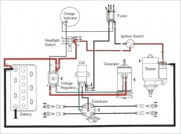1971 Vw Bus Ignition Switch Wiring Diagram / LH Interior