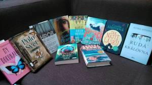 Knihy z veletrhu