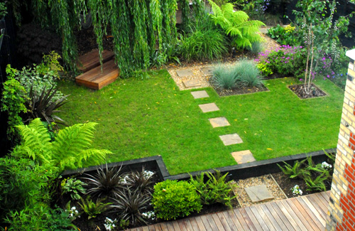 idea simple garden landscaping Different Garden designs For Your Home..Choose Yours