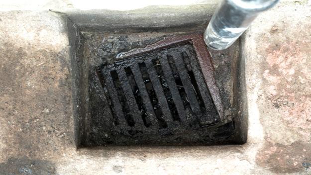 unblock a drain