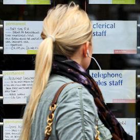Unemployment hits women hardest (Reuters)