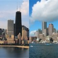 Chicago and Boston