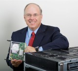 HP Enterprise group chief Dave Donatelli with Moonshot Server