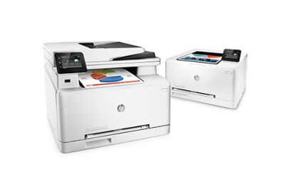 HP COLOR LASERJET PRO MFP M277 (left) and M252