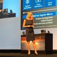 Renee Bergeron, senior vice president of global cloud channel at Ingram Micro