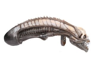 H.R. Giger created the iconic Alien