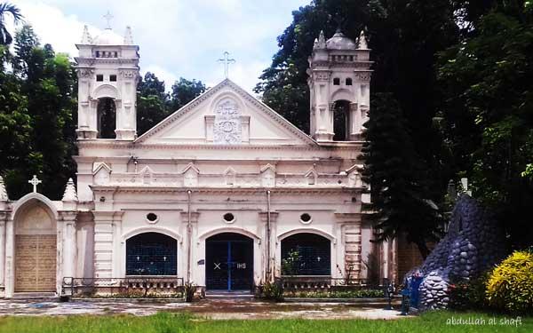 হাসনাবাদজপমালা রানির গির্জা