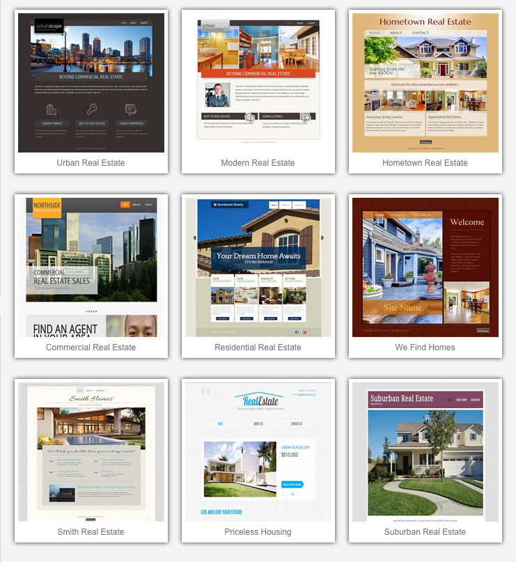 Image: Real Estate Templates