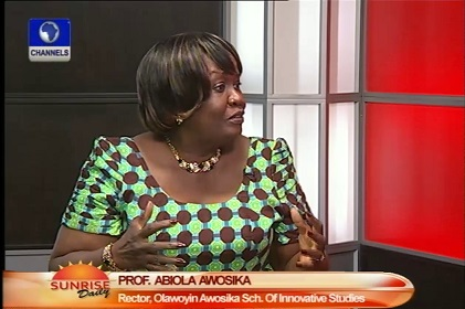 Image result for professor abiola awosika