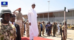 President Buhari Launches Armed Forces Remembrance Day Emblem
