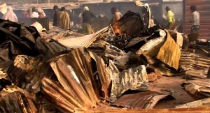 Fire Wreaks Havoc At Ebute Metta Sawmill