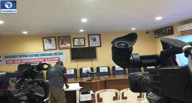 INEC-Officein-Benin-preparing-for-collation