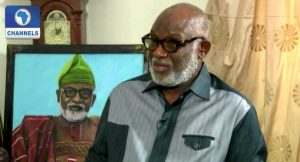 I Won't Probe Past Ondo Government, Rotimi Akeredolu Says