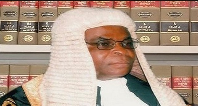 Walter Onnoghen Sworn-In As Chief Justice Of Nigeria