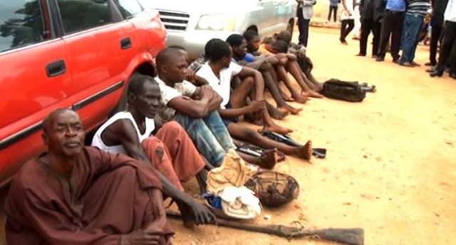 Police Parade Suspected Cop Killers, Others In Benue