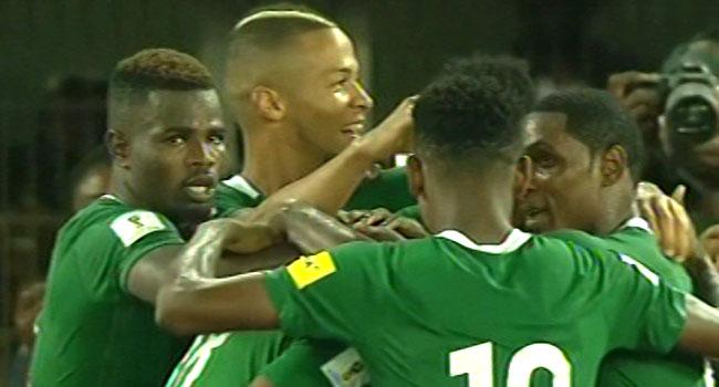 Saraki In Uyo, Commends Eagles' Victory Over Zambia