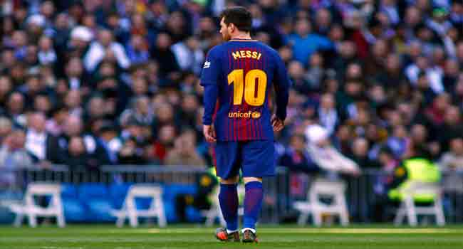 Messi Out Of Barcelona Squad For