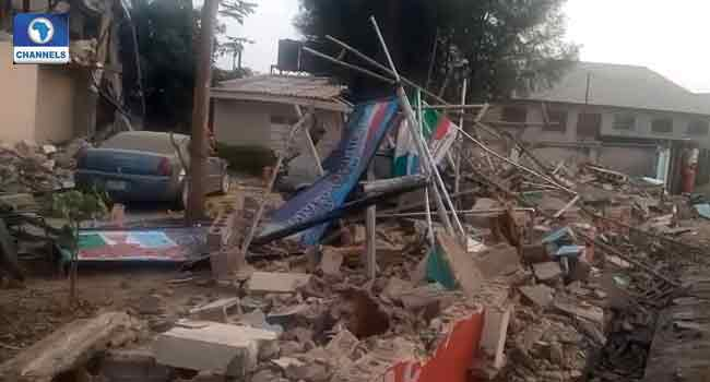 Kaduna Factional APC Secretariat Demolished After Suspension of El-Rufai