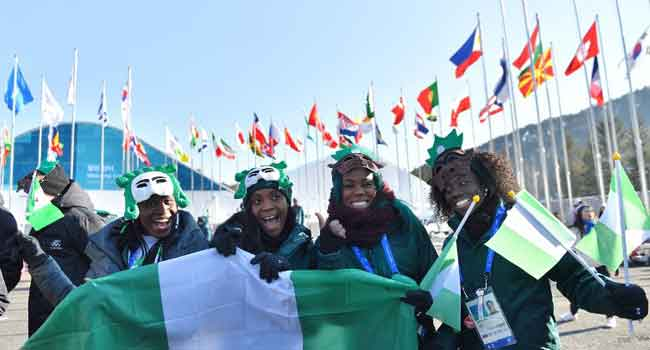 Buhari sends goodwill message to winter Olympic team