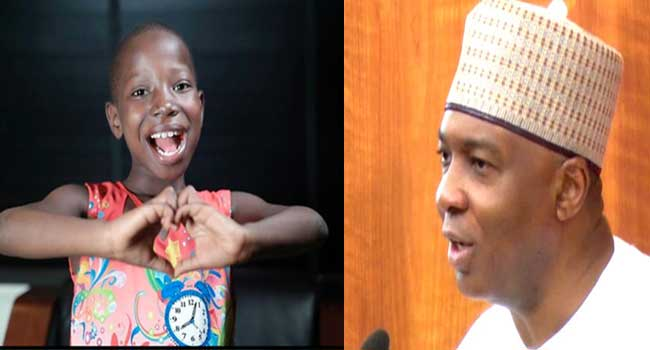 Saraki Invites Kid Comedienne, Emmanuella to Senate