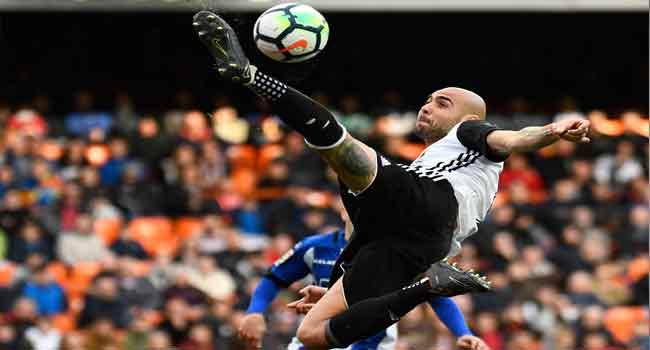 Moreno and Zaza lead Valencia to 3-1 win over Alaves