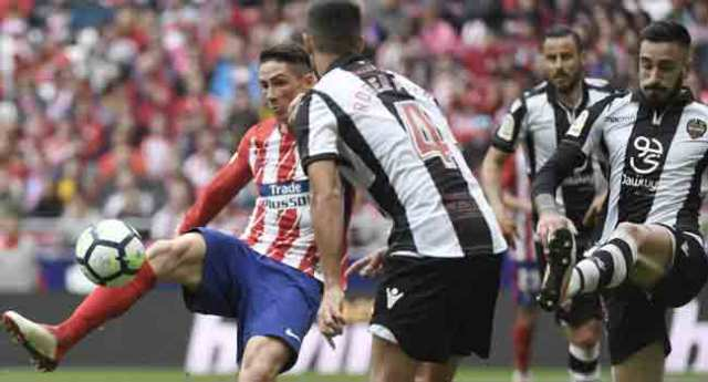 Torres, Griezmann On Target As Atletico Thrash Levante