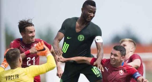 BREAKING: Czech Beat Nigeria In Friendly After England Loss