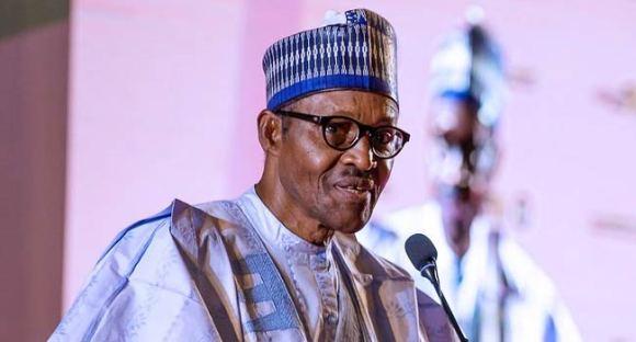 President Buhari Greets Tam David-West At 82