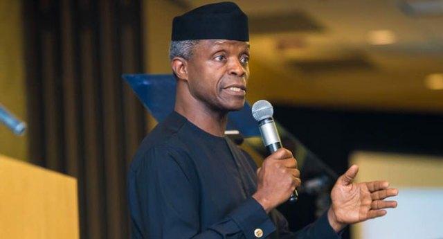 Why FG Is Uplifting Poor Nigerians Through SIPs – Osinbajo