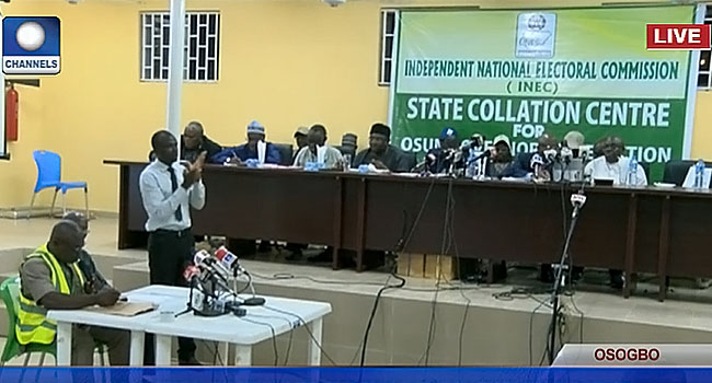 Collation of Osun Governorship Election Results