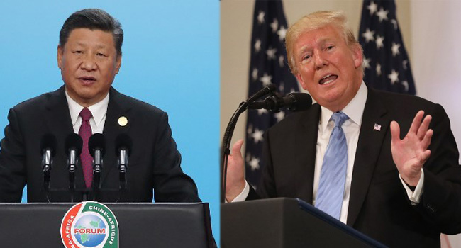China trade: Trump touts progress in talks for deal