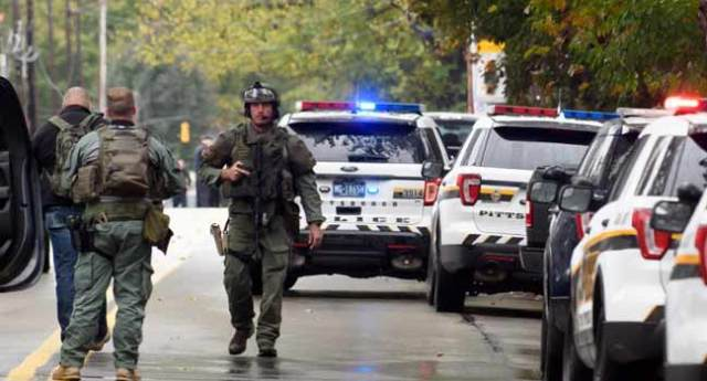 'Multiple Casualties' As Gunman Opens Fire At US Synagogue