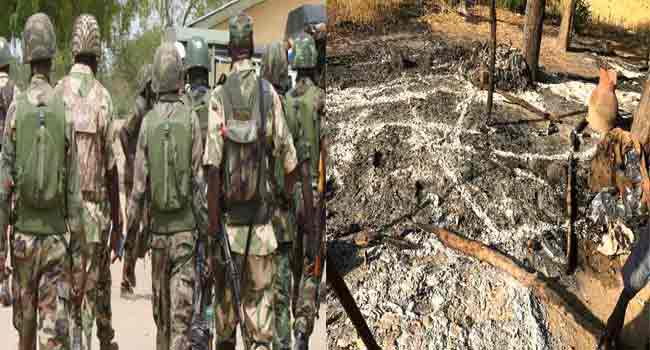 Army Claims Attack On Borno Villages Foiled, One Killed