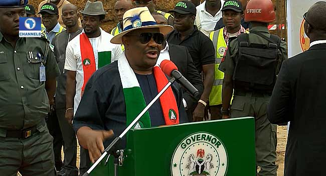 Image result for We won't allow Ruga Settlements in Rivers – Wike