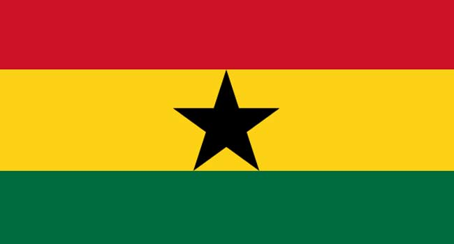A file picture of the Ghanaian Flag