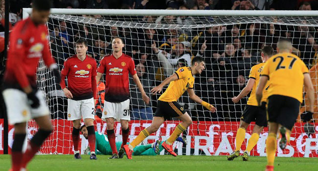 Wolves Beat Man United To Reach FA Cup Semis